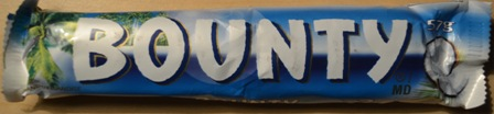 bounty chocolate bar