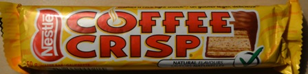 Coffee Crisp chocolate bar
