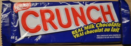 crunch chocolate bar