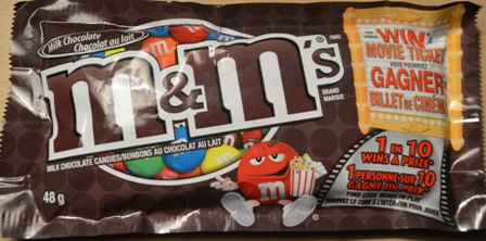 M&M's chocolate bar